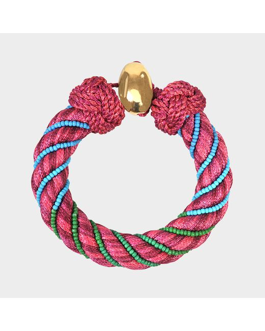 Aurelie Bidermann - Red Maya 10 Mm Bracelet - Lyst