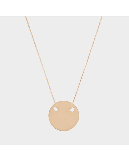 Ginette NY - Multicolor Mini Disc On Chain - Lyst