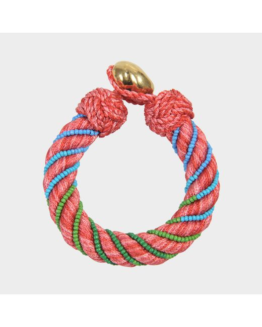 Aurelie Bidermann - Pink Maya 10 Mm Bracelet - Lyst