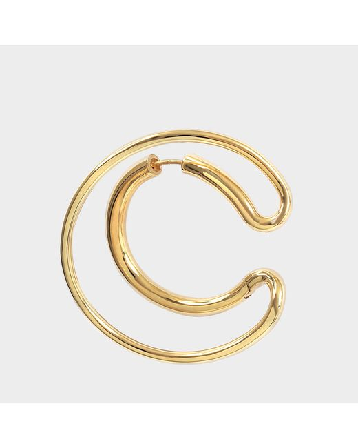 Charlotte Chesnais - Multicolor Ego Mono Earring L In Yellow Vermeil - Lyst