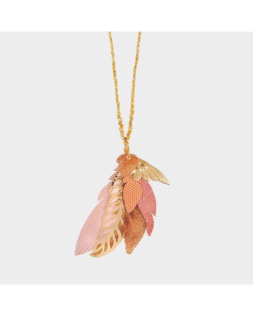 Gas Bijoux - Metallic Exclusive L'iroquoise Necklace With Swarovski Crystals - Lyst