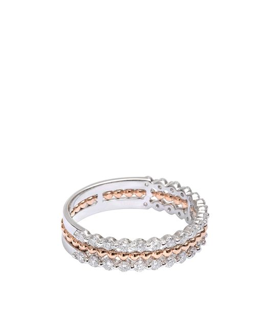 Vanessa Tugendhaft - Metallic Exclusive Princess Ring In Gold And Diamonds - Lyst