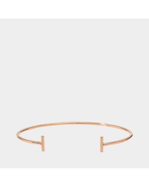 Ginette NY - Metallic Gold Strip Bangle Bracelet - Lyst