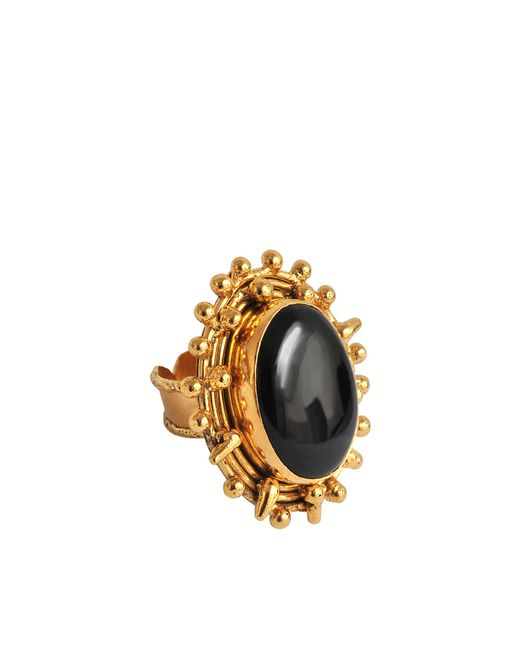 Sylvia Toledano - Black Dots Malachite Ring - Lyst