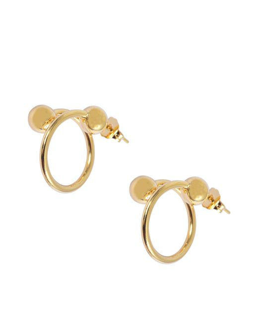 J.W. Anderson | Metallic Pierce Small Earrings | Lyst