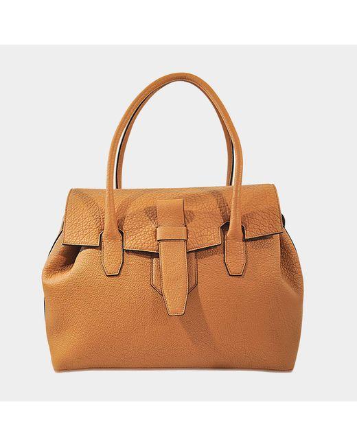 Lancel - Natural Charlie Satchel Bag - Lyst