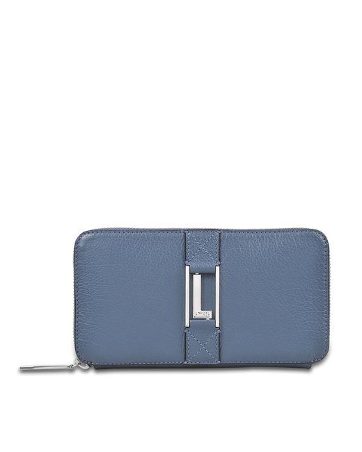 Lancel - Blue Max Continental Zipped Wallet - Lyst