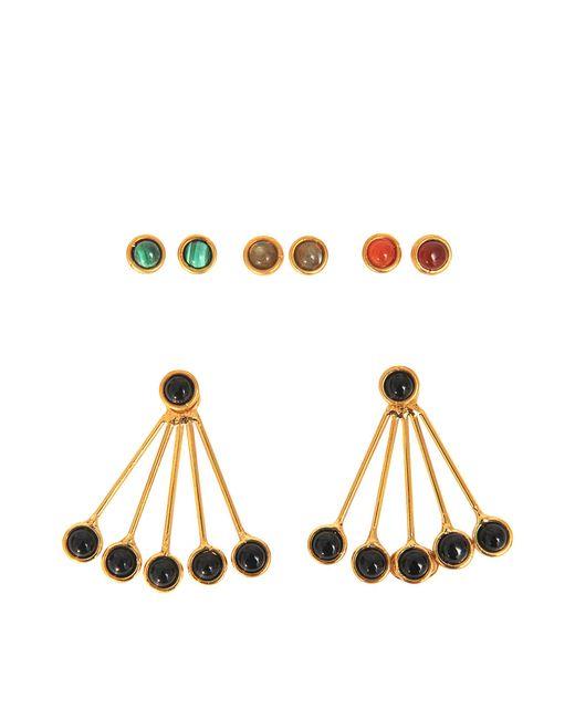Sylvia Toledano - Black Les Infidèles Ear Jacket Set Of Earrings - Lyst