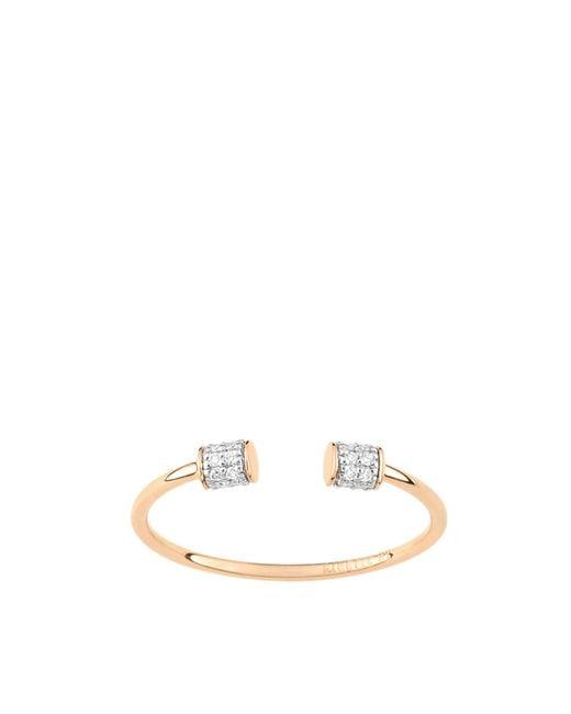Ginette NY | White Single Diamond Choker Ring | Lyst