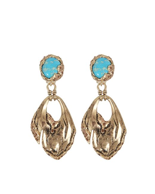 Roberto Cavalli   Multicolor Glam Stone Earrings   Lyst