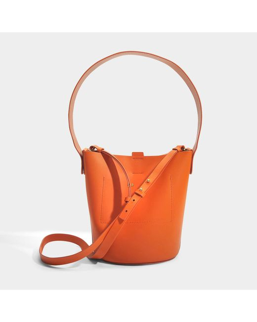 The Swing Bag in Clementine Cow Leather Sophie Hulme wwxtvi