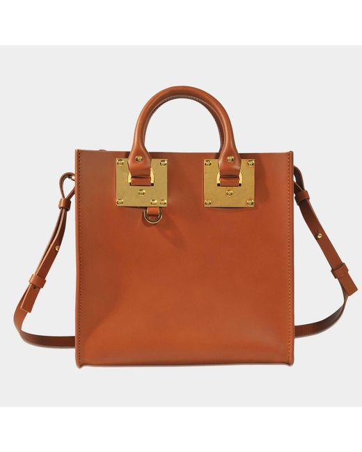 Sophie Hulme - Brown Square Albion Tote - Lyst