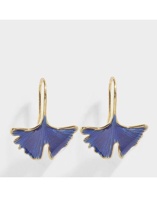 Aurelie Bidermann - Multicolor Tangerine Earrings In Lacquered Blue - Lyst