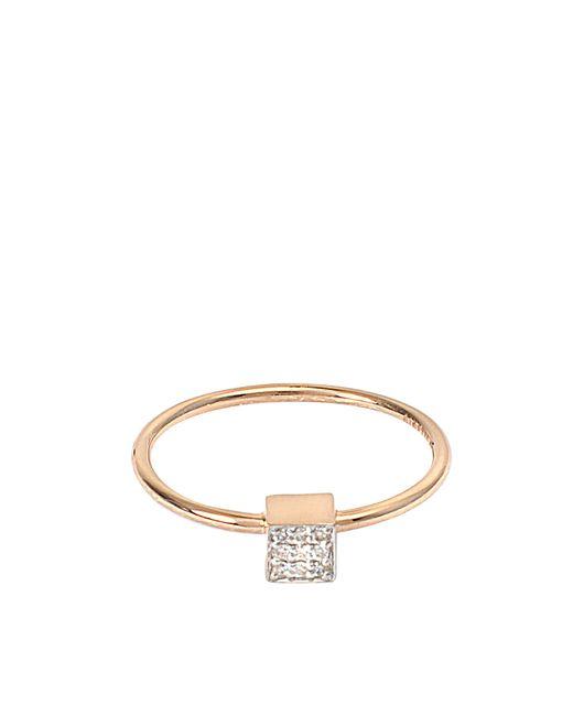Ginette NY | Multicolor Mini Diamond Ever Square Ring | Lyst