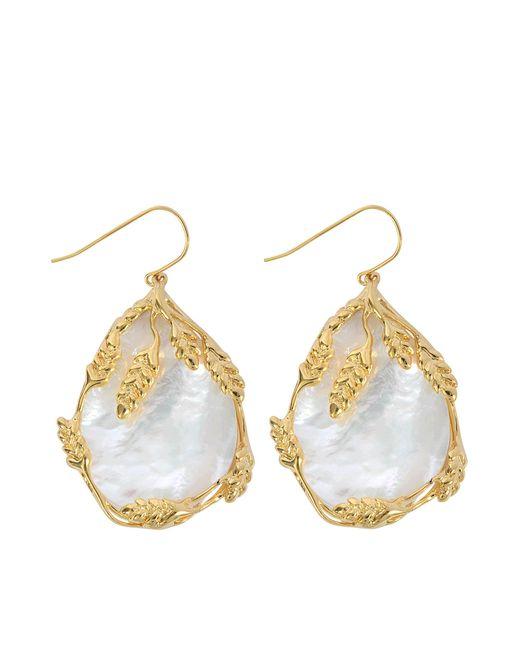 Aurelie Bidermann | Metallic Francoise Pendant Earrings | Lyst
