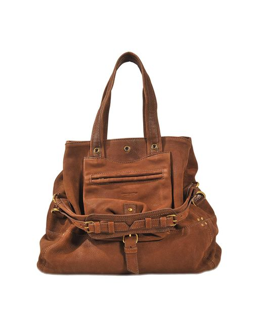 Jérôme Dreyfuss | Brown Billy M Bag In Bubble Lambskin | Lyst