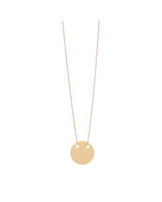 Ginette NY | Metallic Mini Disc Necklace | Lyst