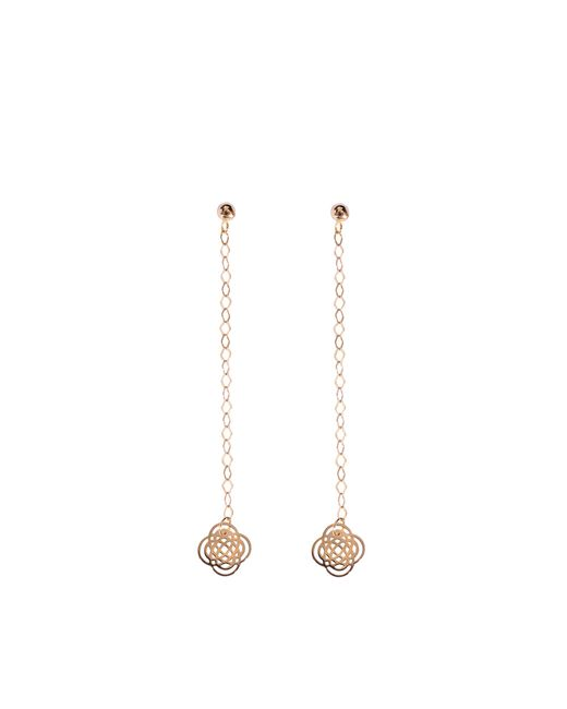 Ginette NY | Brown Purity Studs Long Earrings | Lyst