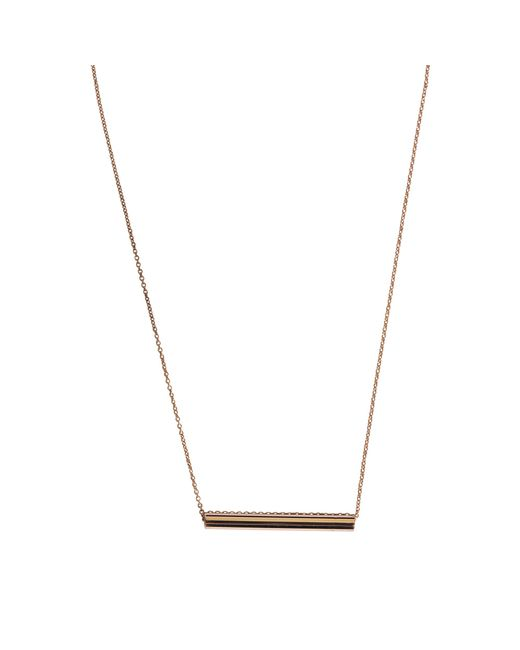 Ginette NY | Metallic Straw On Chain Necklace | Lyst