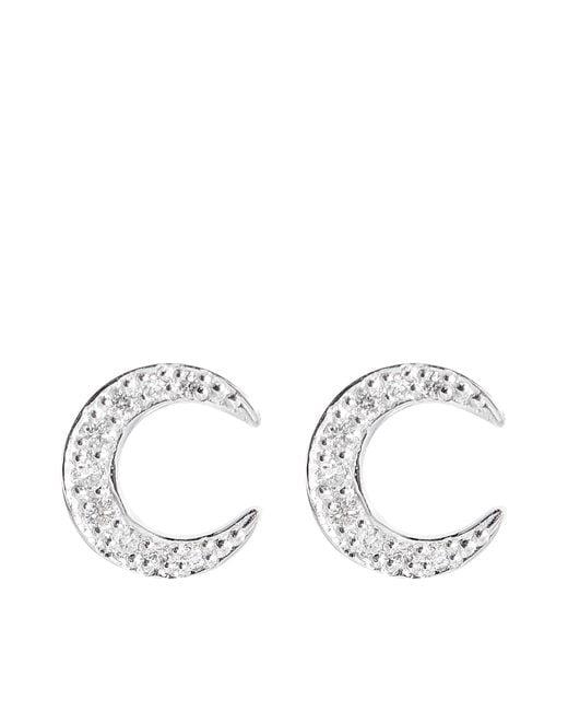 Ginette NY | Metallic Diamonds Masai Earrings | Lyst