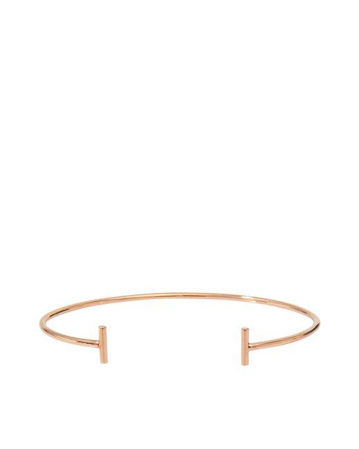 Ginette NY | Metallic Gold Strip Bangle Bracelet | Lyst