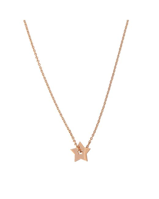 Ginette NY | Metallic Open Star On Chain Necklace | Lyst