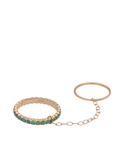 Ginette NY | Green Double Fallen Sky Ring | Lyst