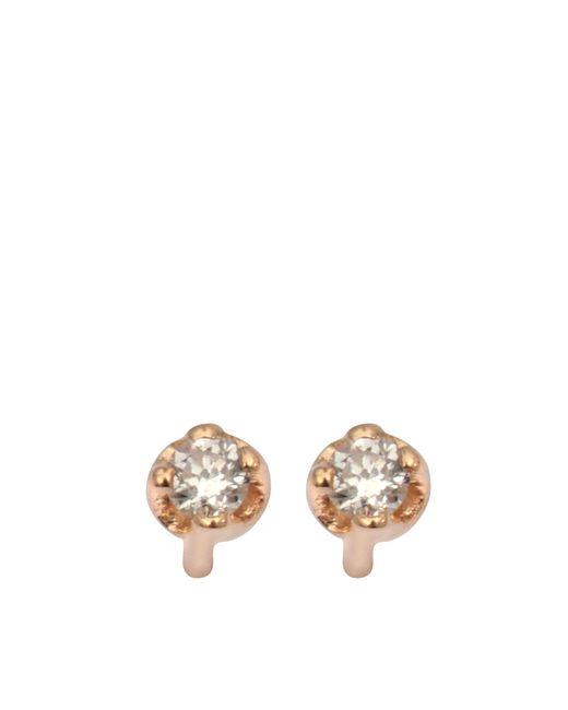 Ginette NY | Metallic Mini Diamond Clip Earrings | Lyst