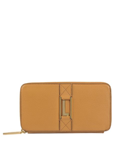 Lancel | Brown Max Continental Zipped Wallet | Lyst