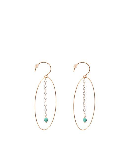 Ginette NY   Green Fallen Sky Ellipse Earrings   Lyst