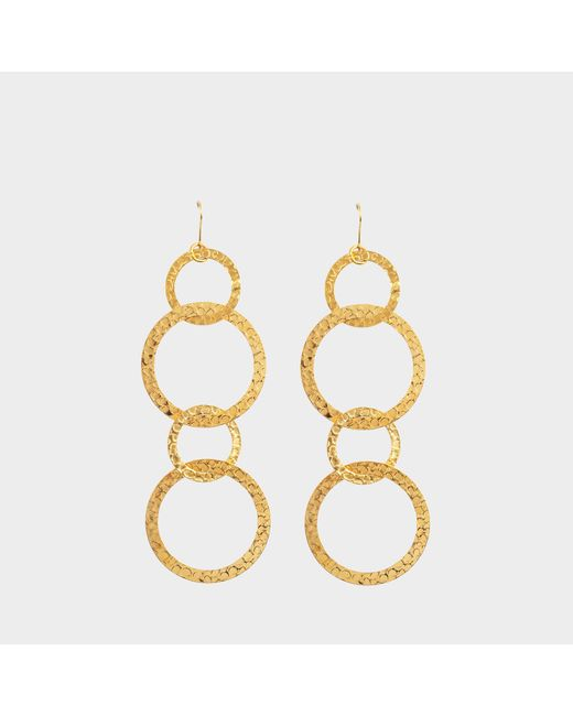 Sylvia Toledano - Metallic Saturn Earrings - Lyst