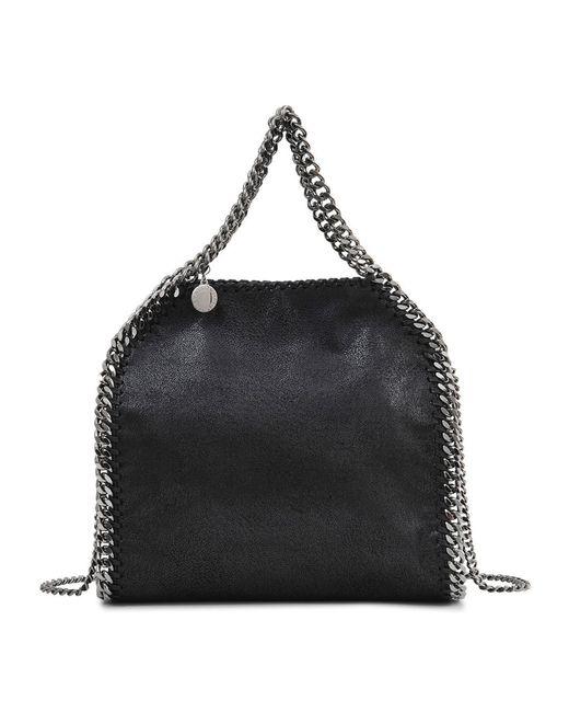 Stella McCartney | Black Falabella Minibella Shaggy Deer Bag | Lyst