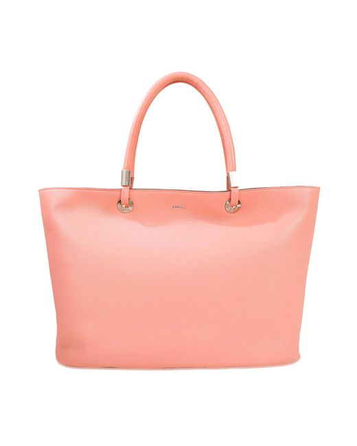 Lancel - Pink Flore Zipped Tote - Lyst