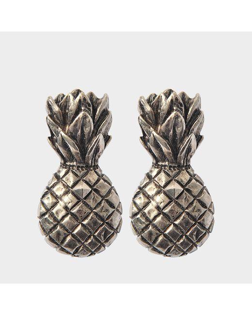Valentino - Multicolor Tropical Dream Pineapple Clip Earrrings - Lyst