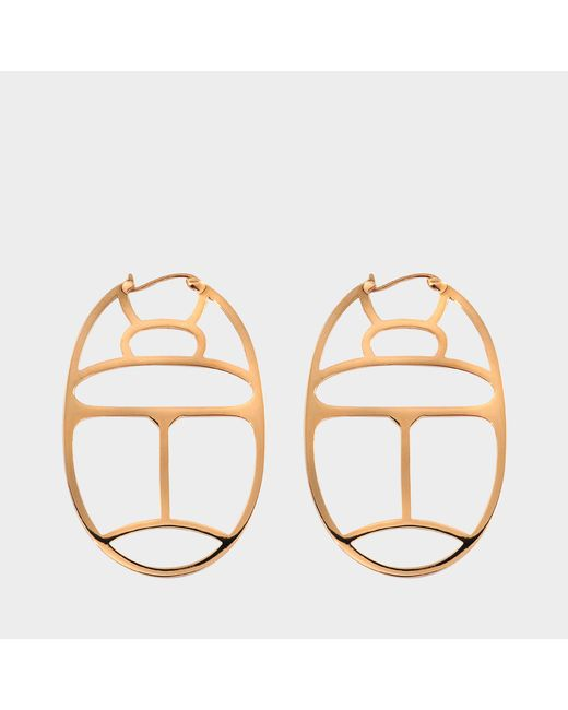 Ginette NY - Metallic Large Wish Hoop Earrings - Lyst