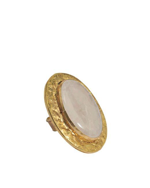 Sylvia Toledano | Metallic Oval Onyx Ring | Lyst