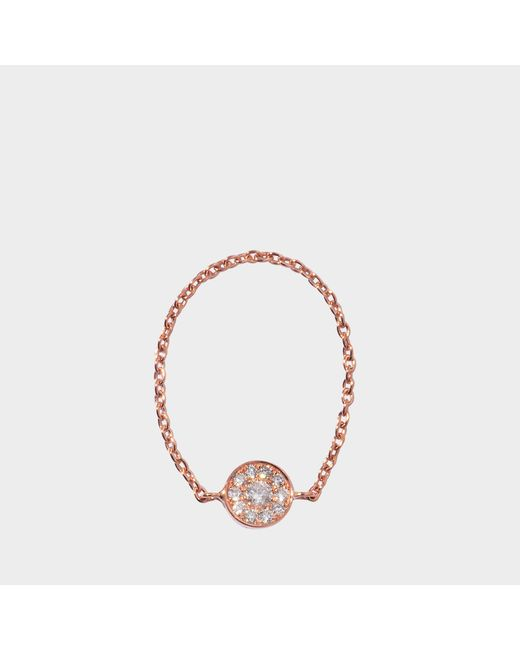 Vanessa Tugendhaft - Pink Gold Shapes Ring - Lyst