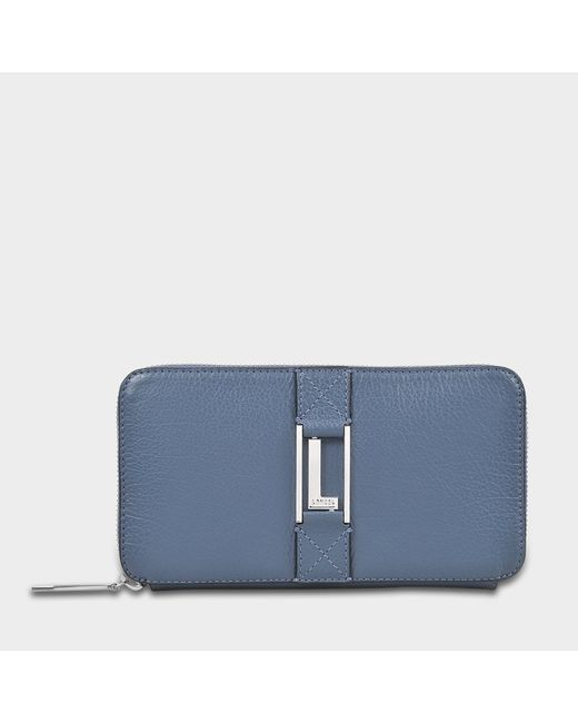 Lancel - Blue Max Continental Zipped Wallet - Lyst