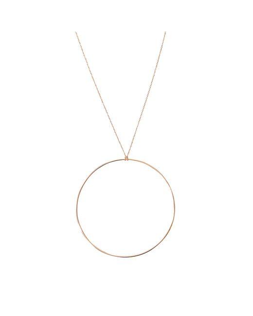 Ginette NY | Metallic Jumbo Circle Necklace | Lyst