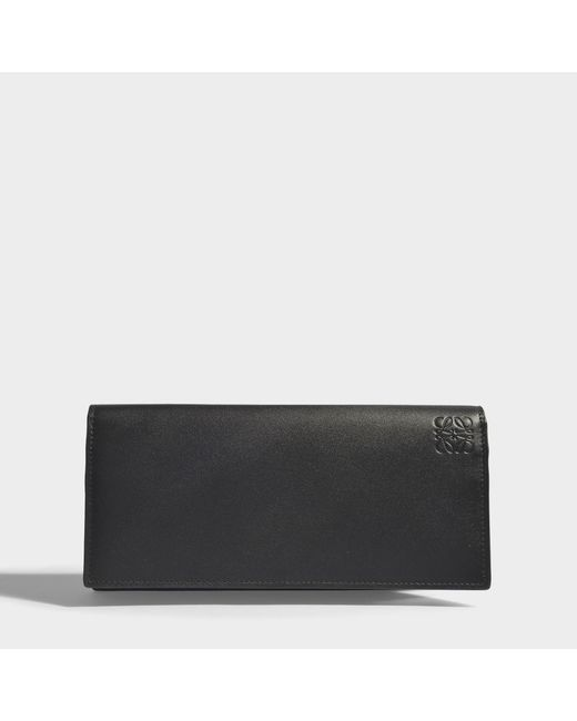 Loewe - Rainbow Long Horizontal Wallet In Black And Multicolour Classic Calf - Lyst