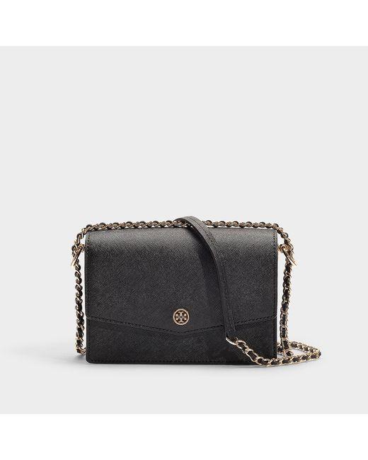 Tory Burch - Black Robinson Convertible Shoulder Bag (gray Heron) Shoulder Handbags - Lyst