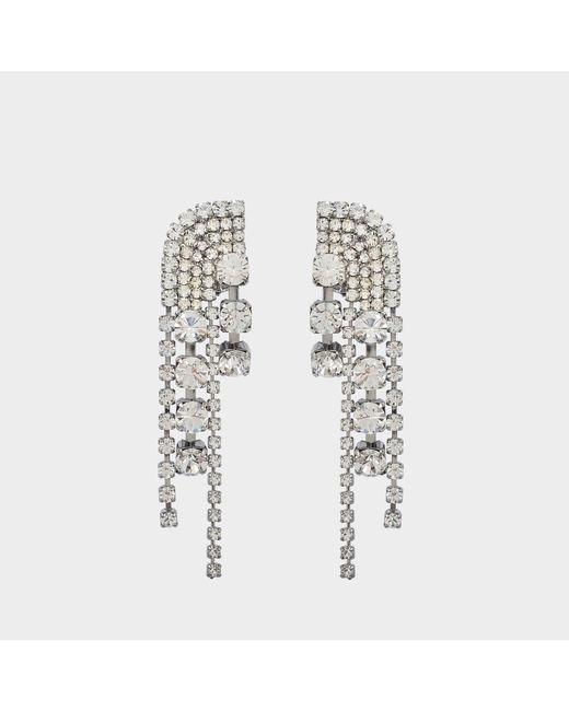 Helene Zubeldia - Multicolor Cascade Earrings - Lyst
