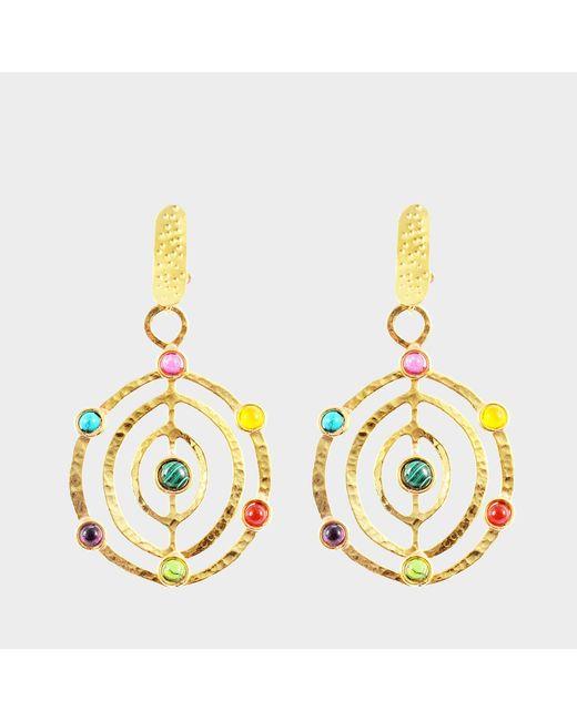 Sylvia Toledano - Metallic Ellipse Earrings - Lyst