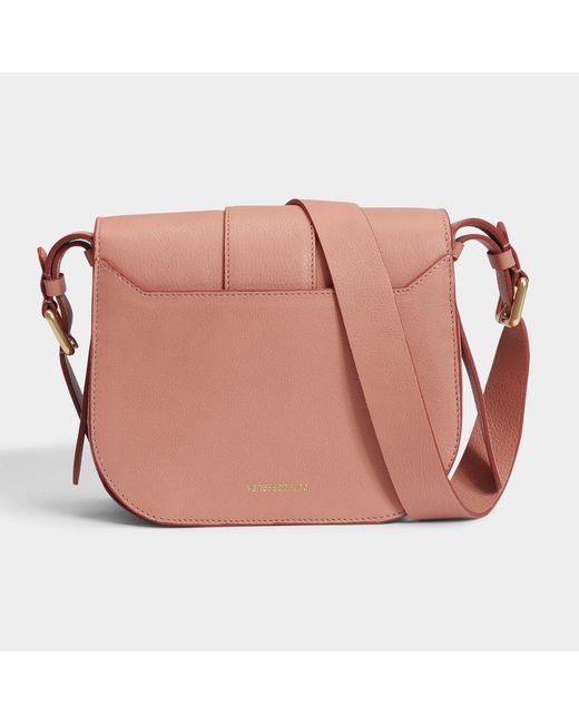 Moon Shoulder Bag in Ivory Cowhide Vanessa Bruno wPxnvsi