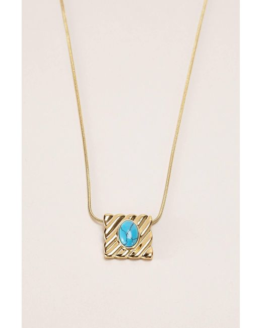 House of Harlow 1960 - Metallic Necklace / Longcollar - Lyst