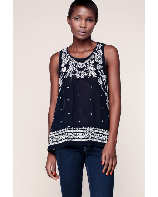 Pepe Jeans | Blue Top | Lyst