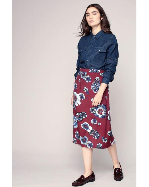 Glamorous   Red Mid-length Skirt   Lyst