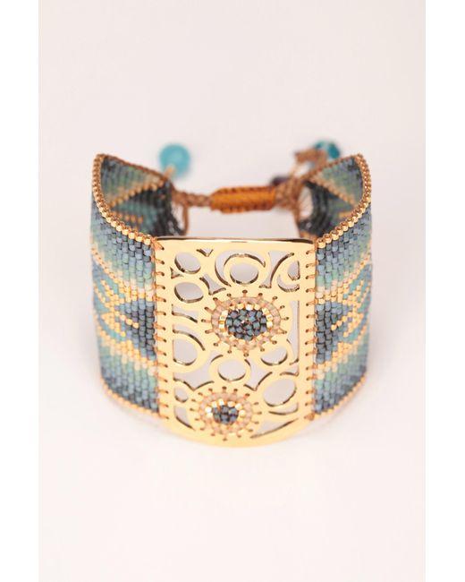 Mishky   Blue Bracelet   Lyst