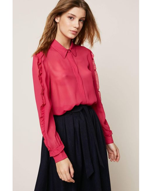 MAX&Co. - Pink Oversized Blouses - Lyst