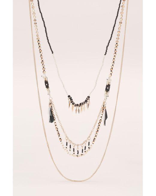 Pieces   Multicolor Necklace / Longcollar   Lyst